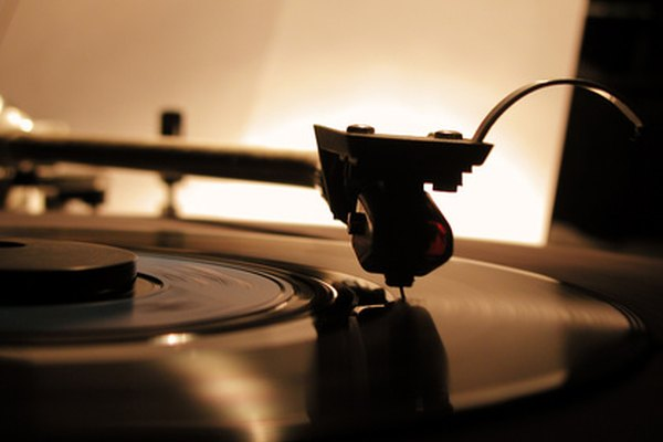 Los rayones en los discos de vinilo se pueden reparar.