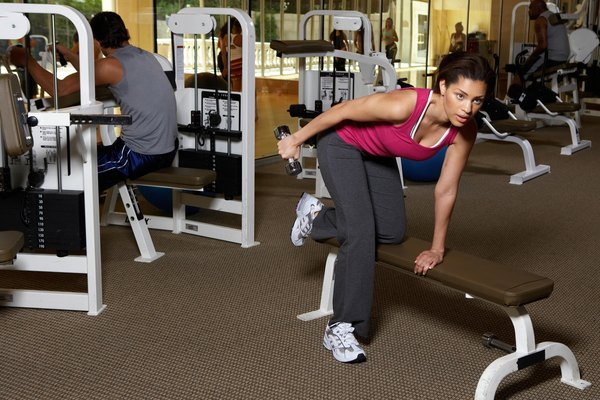 Toning Workout for Women With Weight Bench | Chron com