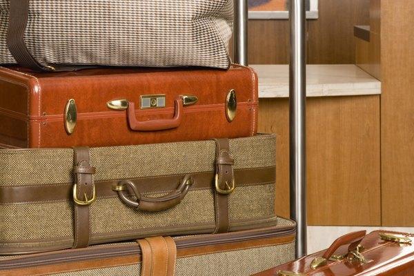 La mayoría de las compañías aéreas imponen restricciones de peso de equipaje.