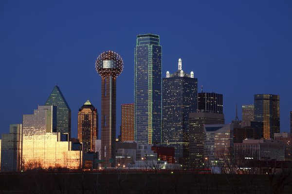 Dallas Skyline, Texas
