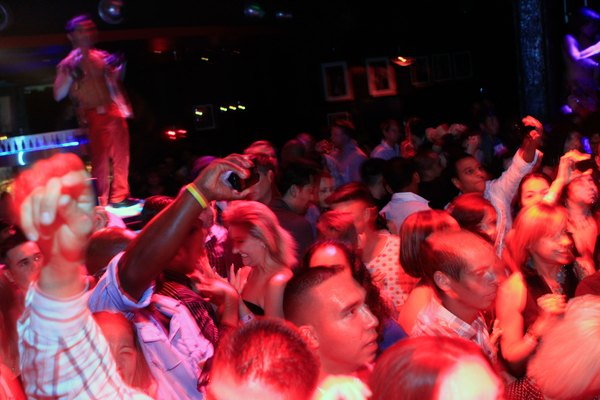 Tone Loc And Young MC Appear At Studio 54