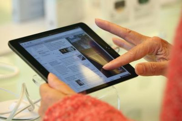 Using an iPad in very cold weather may lead to difficulties.