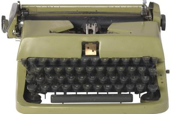 The modern keyboard is modeled after older typewriters, even though were usually inefficient.