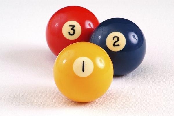 de la 1 a la 8 son de color sólido.