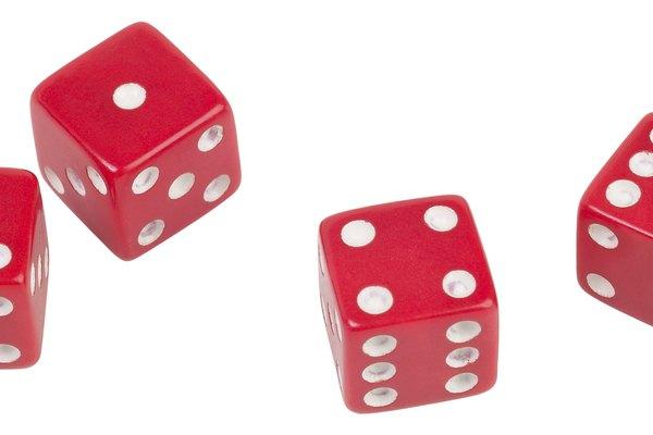 Tirar los dados es un juego común en los casinos de Las Vegas.