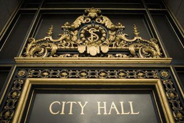 Los salarios en un ayuntamiento varían de gastos a compensaciones a tiempo completo.