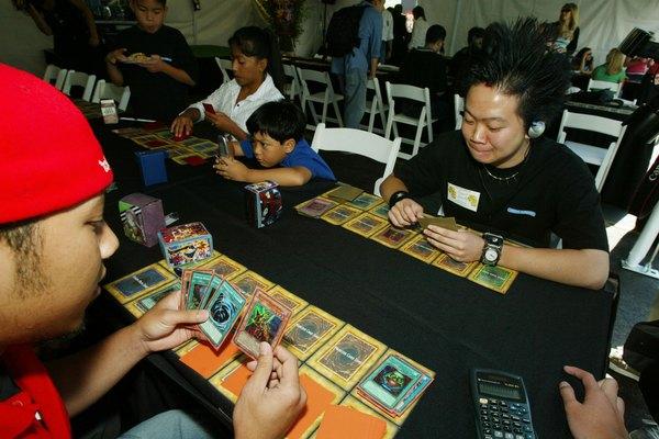 Juego de cartas de Yu-Gi-Oh.