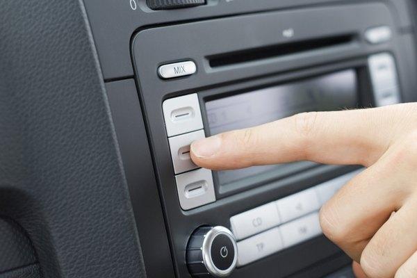 Cómo encontrar el código de activación de radio por satélite en un Ford