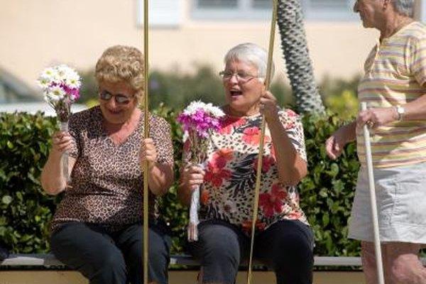 Los hogares colectivos permiten a los ciudadanos mayores vivir juntos en viviendas semi-independientes.