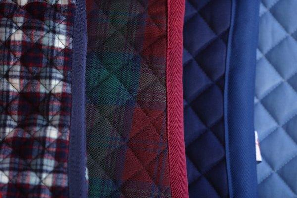 La lana cruda se usa como relleno de edredones.