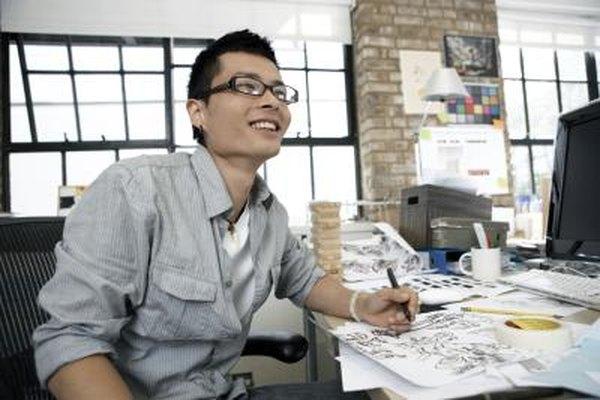 Dibujar o escribir para cómics requiere talento y autopromoción.
