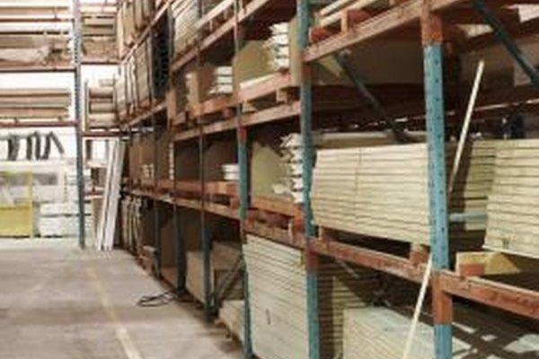 Los productos que no se encuentran físicamente en el almacén se pueden incluir en el inventario.