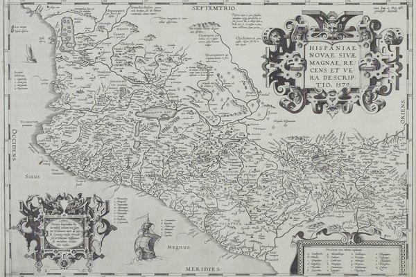 Mapa antiguo de México