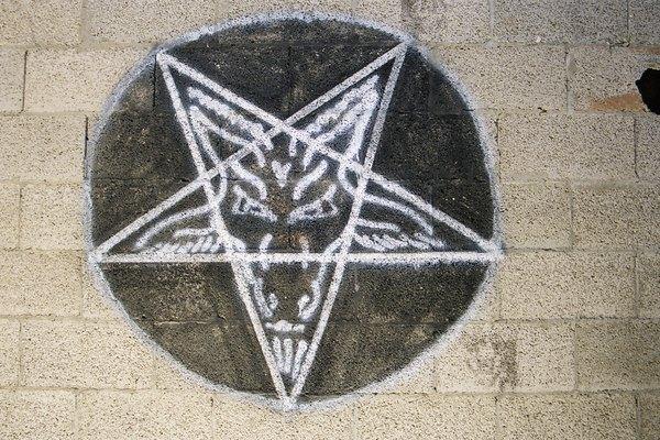 Grafiti de pentagrama.