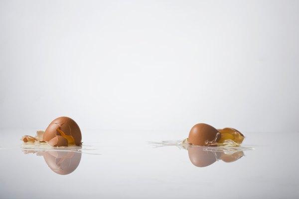 Un diseño exitoso para la tirada de huevos te dejará con un lío.