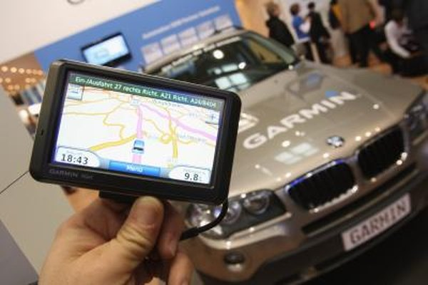 Garmin GPS models are designed for cars, walking or biking.
