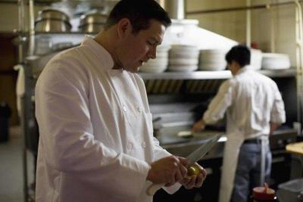 El aire acondicionado mantiene fresca la comida y a los empleados del restaurante.