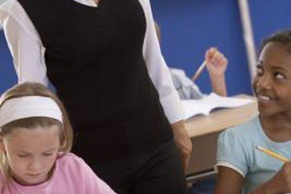 Los maestros de primaria instruyen a los estudiantes en más de un área temática.