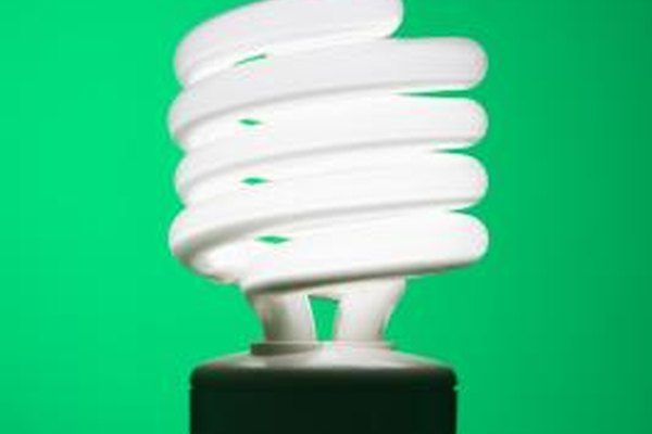 CFL bulbs often have a helical shape.