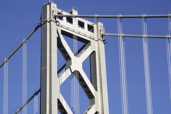 Los ingenieros incorporan la trigonometría en las características de diseño de los puentes.