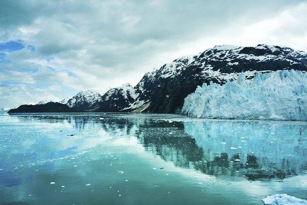 Bahía Glaciar, Alaska.