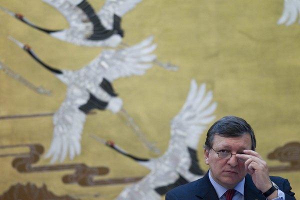 Presidente de la Comisión Europea José Manuel Barroso.