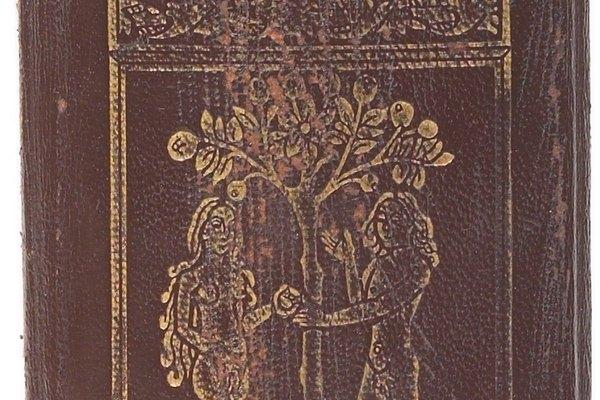 Los sellos de tinta se ven antiestéticos en los libros.