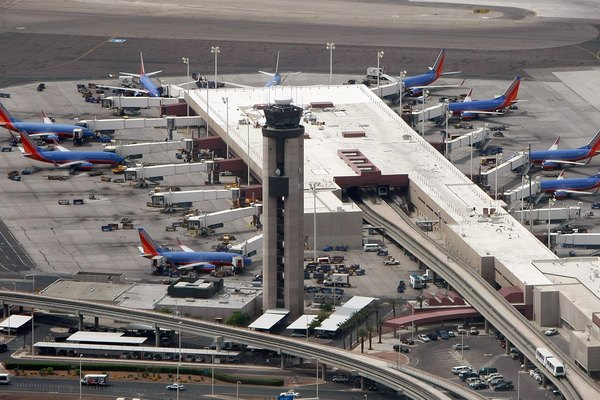 Aerial Views Of McCarran International Airport