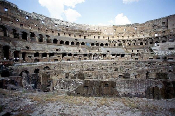 Los edificios de piedra pueden durar miles de años.