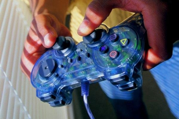 Mando de control de PS2.
