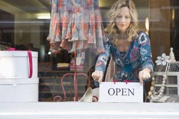 Obtener una licencia de venta al por menor es necesario para abrir una tienda.