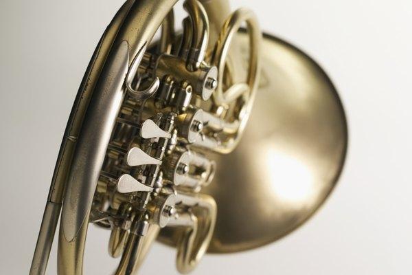 Un corno francés.