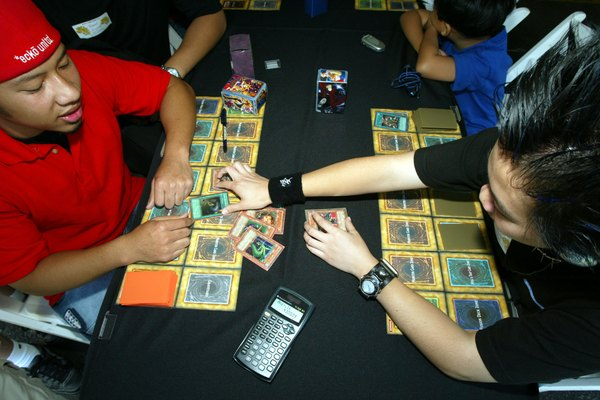 Rather than the lore of the manga and anime, Yu-Gi-Oh! games focus strictly on the card play.