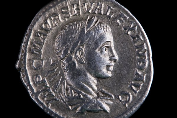 Moneda romana de plata, Alejandro.