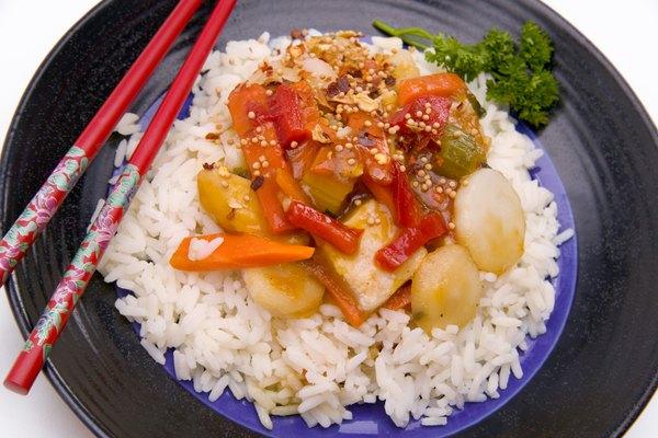 Deliciosa comida china.