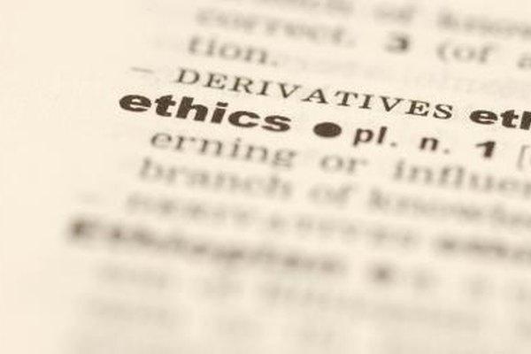Las empresas deben contar con normas éticas.