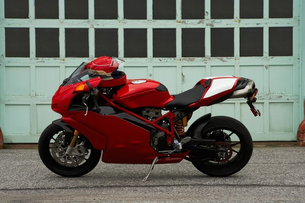 Aumento de la altura de una motocicleta.