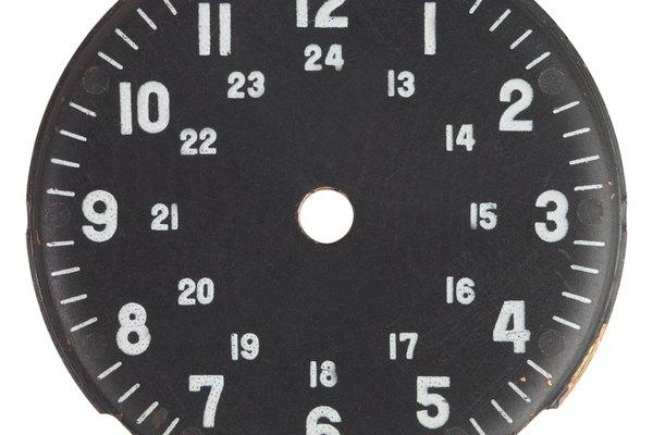 Algunos relojes incluyen los dos sistemas de medición.