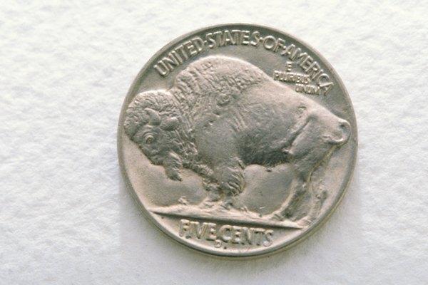 Un níquel búfalo en buenas condiciones vale varias veces más que su valor nominal.