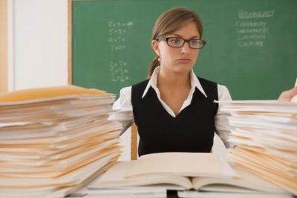 El correcto entrenamiento puede ayudar a un maestro sin experiencia para evitar que se sienta abrumado.