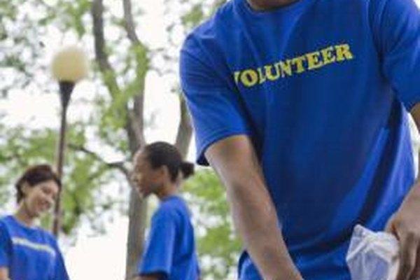 Los voluntarios pueden adquirir una valiosa experiencia laboral.