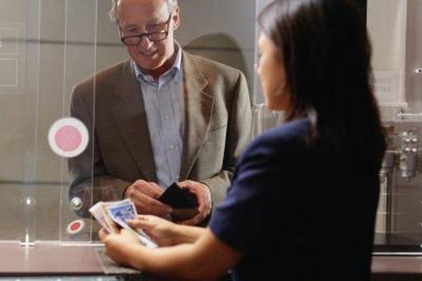 Jefe de cajeros es una posición de promoción común para un cajero de banco.