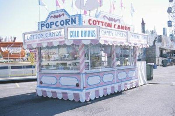 Las ferias y festivales son lugares ideales para ganar dinero como vendedor de comida.