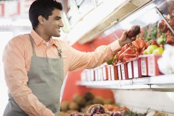 Las mini-tiendas se especializan en la venta de ciertos alimentos.