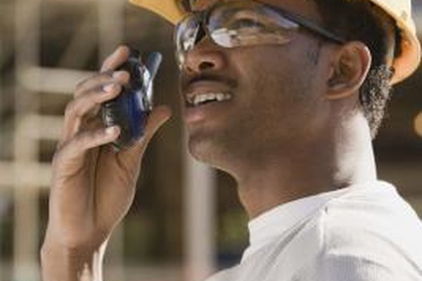 Walkie talkies can be easier to use then cell phones.
