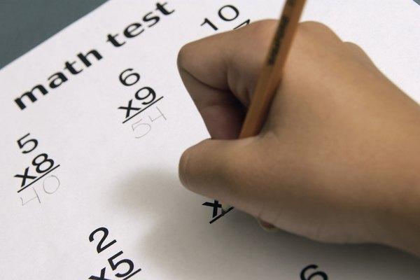 Aplica pruebas de matemáticas de multiplicación para medir el progreso de los estudiantes.