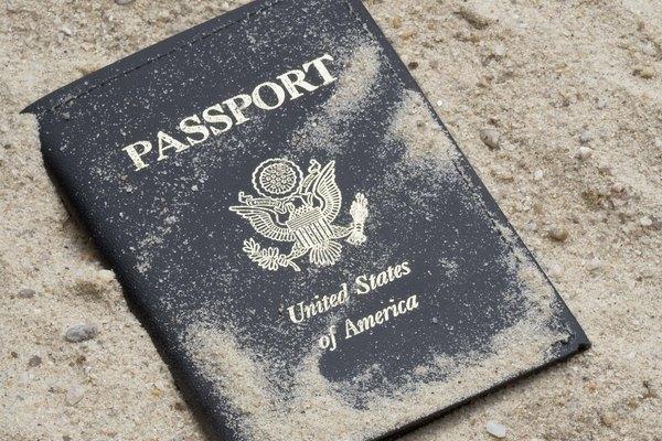 El pasaporte puede dañarse fácilmente.