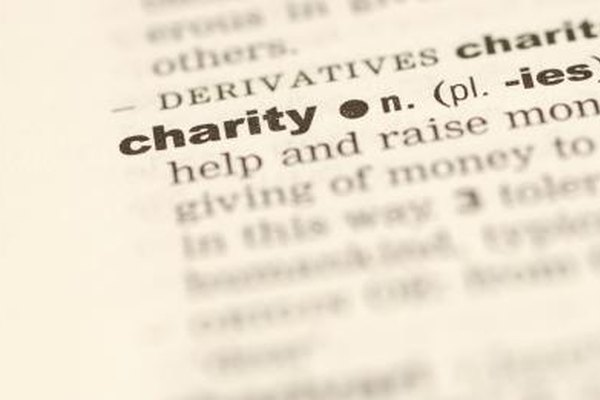 Crea un nombre que ayude a identificar tu organización de caridad.