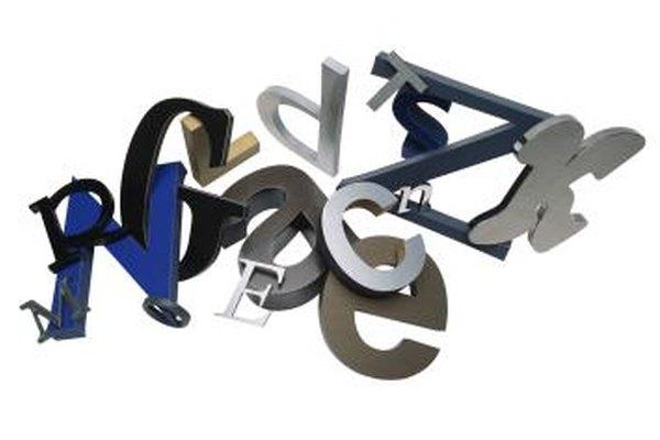 Las fuentes sans serif son adecuadas para las cartas comerciales que envías por correo electrónico.