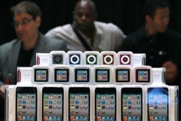 El diseño y la producción del iPod Touch se produjeron a una escala global.